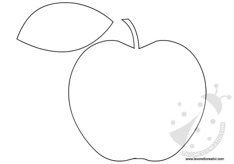 Sagome frutta da ritagliare lavoretti creativi for Disegni da colorare e ritagliare per bambini