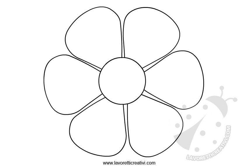 Preferenza Sagome fiori da ritagliare - Lavoretti Creativi MP01
