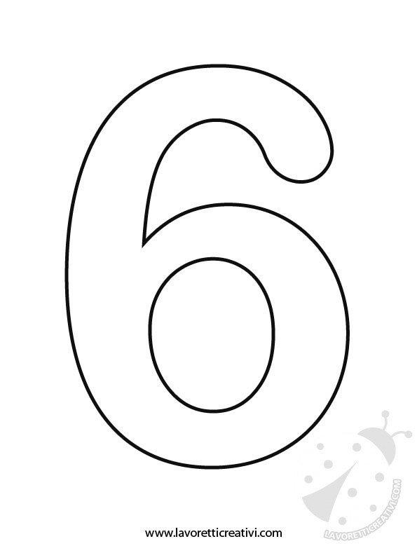 Sagome numeri 6 7 8 9 0 lavoretti creativi - Numeri per tavoli da stampare ...