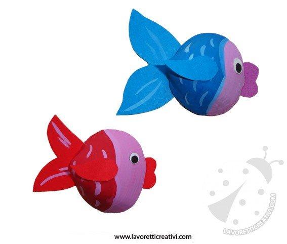 Lavoretti Per Lestate Pesci Con Le Conchiglie Lavoretti Creativi
