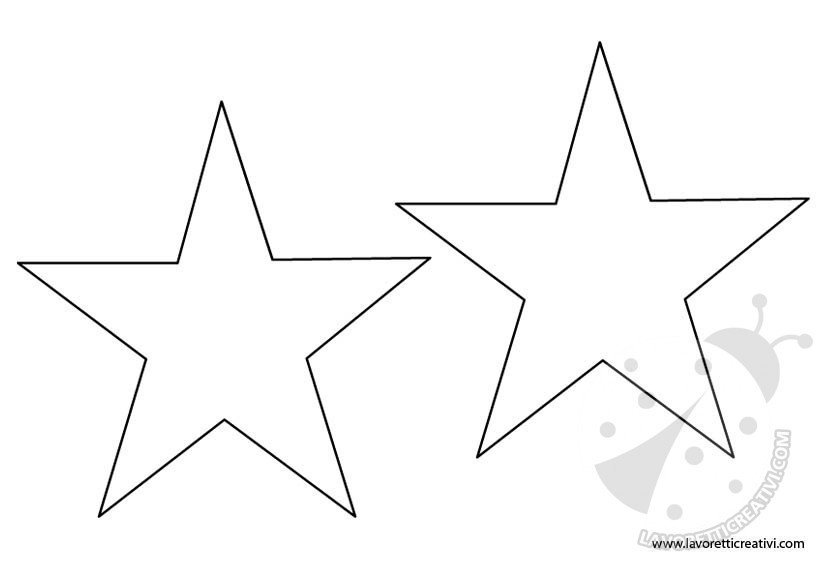 cartamodello stelle