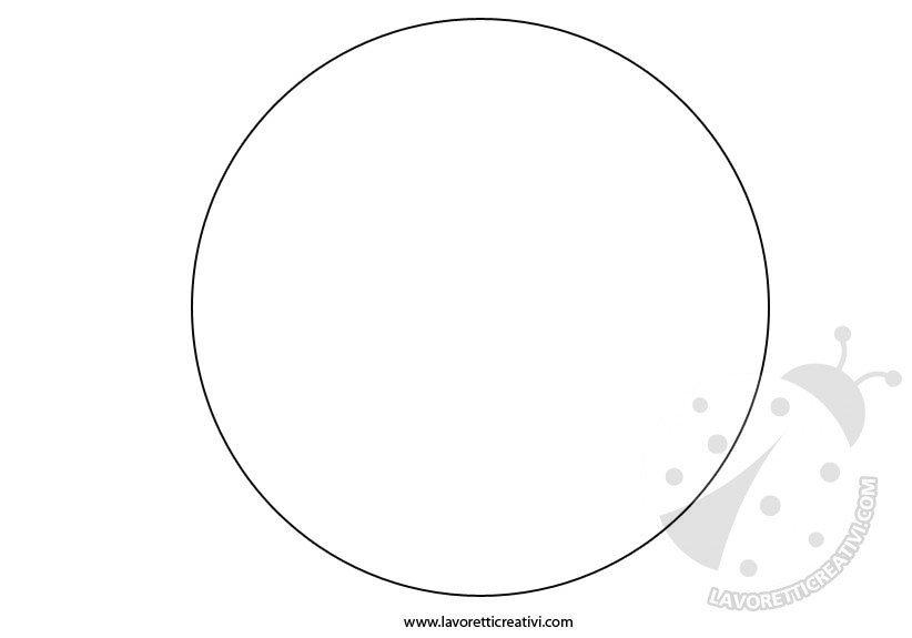sagoma cerchio