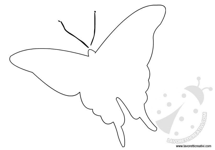 cartamodello farfalla 2
