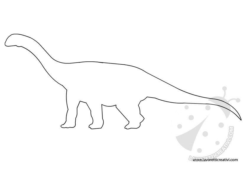 Sagome Di Dinosauri Da Ritagliare Lavoretti Creativi