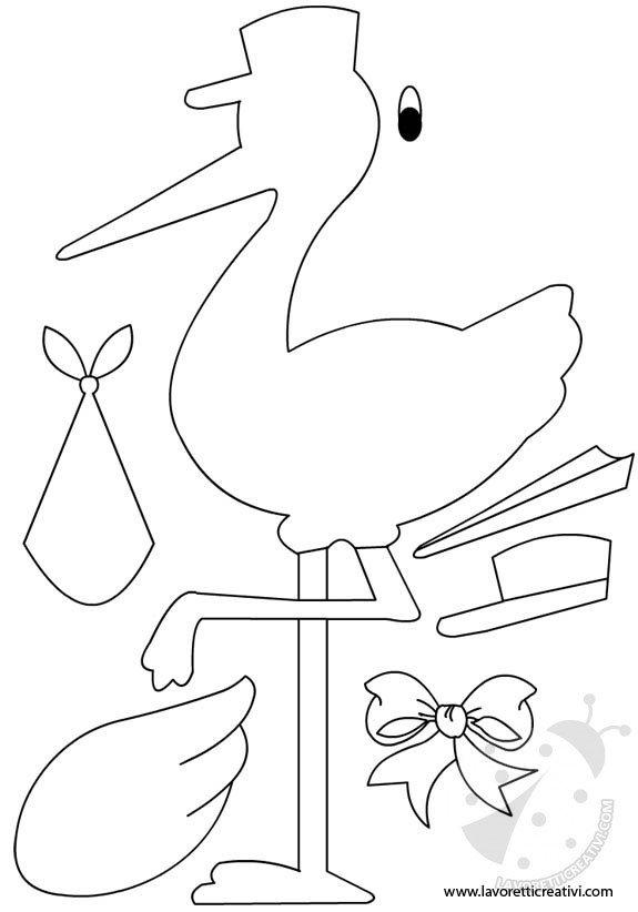 cartamodelli cicogna