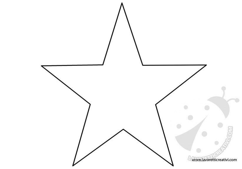 stelle di varie forme lavoretti creativi