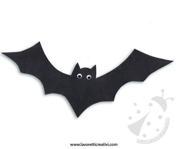 Pipistrelli Di Halloween Da Colorare.Decorazione Di Halloween Pipistrello Lavoretti Creativi