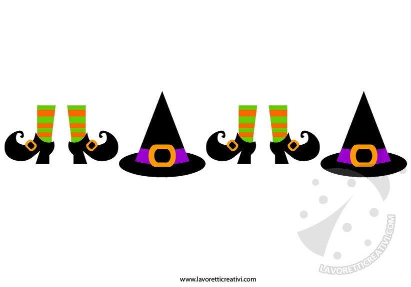 Decorazioni Halloween - Festone fai da te - Lavoretti Creativi 29d370177fca