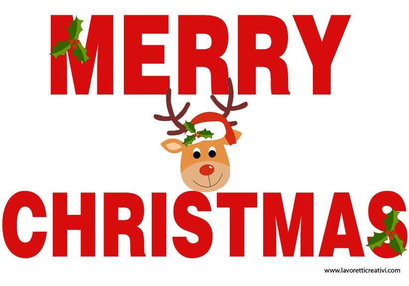 Addobbi natale festone merry christmas lavoretti creativi for Addobbi aula natale