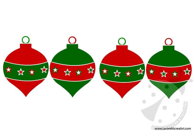 Addobbi festone di natale lavoretti creativi - Immagine dell albero a colori ...