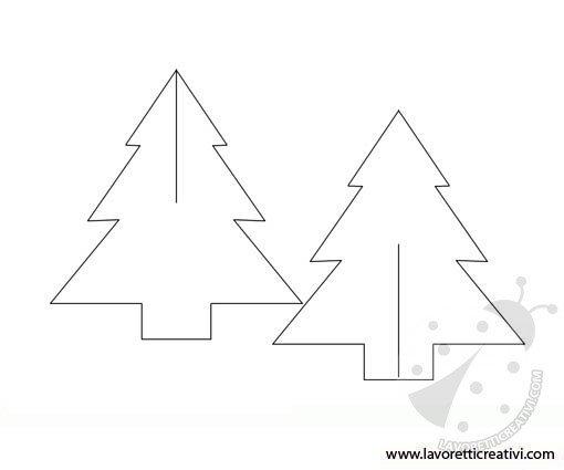Albero Di Natale 3d.Un Albero Di Natale 3d Lavoretti Creativi