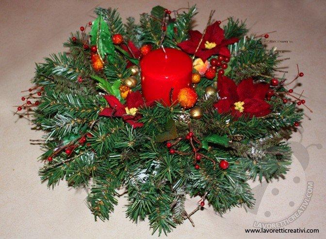 Centrotavola Natalizi Lavoretti.Centrotavola Di Natale Fai Da Te Lavoretti Creativi