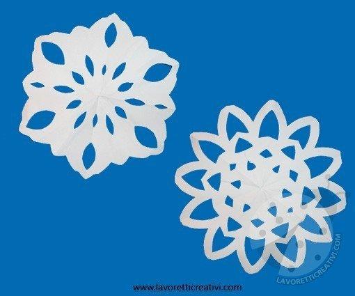 Come Realizzare Fiocchi Di Neve Con La Carta Lavoretti Creativi