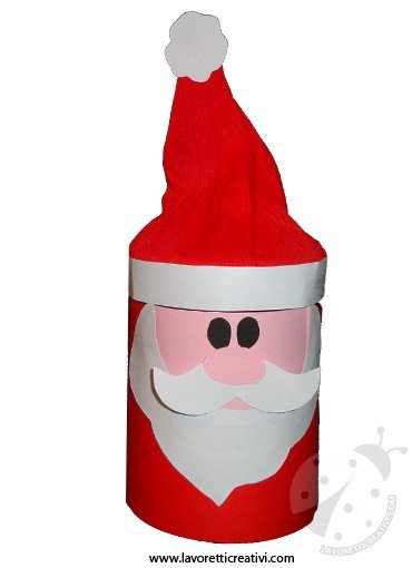 Babbo Natale Lavoretti.Babbo Natale Con Barattolo Di Vetro Lavoretti Creativi