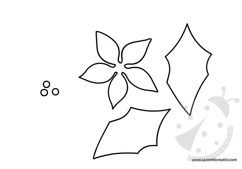 Disegno Stella Di Natale Da Colorare.Disegno Della Stella Di Natale Da Colorare Disegni Di Natale