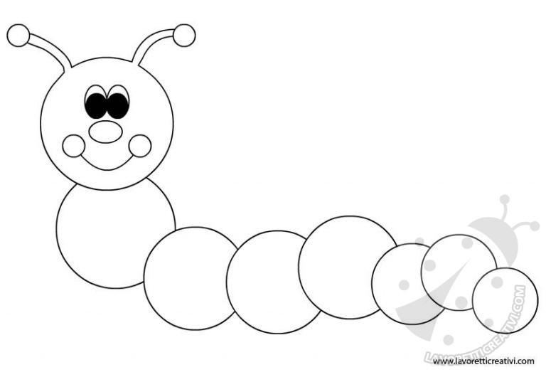Long Black And White Caterpillar Clip Art Black And White Clipart Black And White