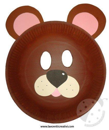 maschera-orso-piatto-4