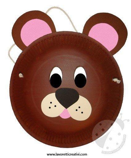 maschera-orso-piatto-5