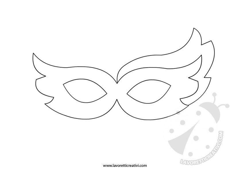 Maschere Di Carnevale Da Ritagliare 6 Lavoretti Creativi