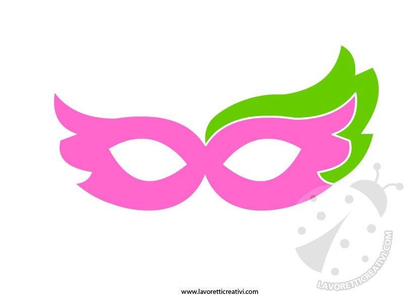 Maschere di carnevale da ritagliare 6 lavoretti creativi for Mascherina carnevale da colorare
