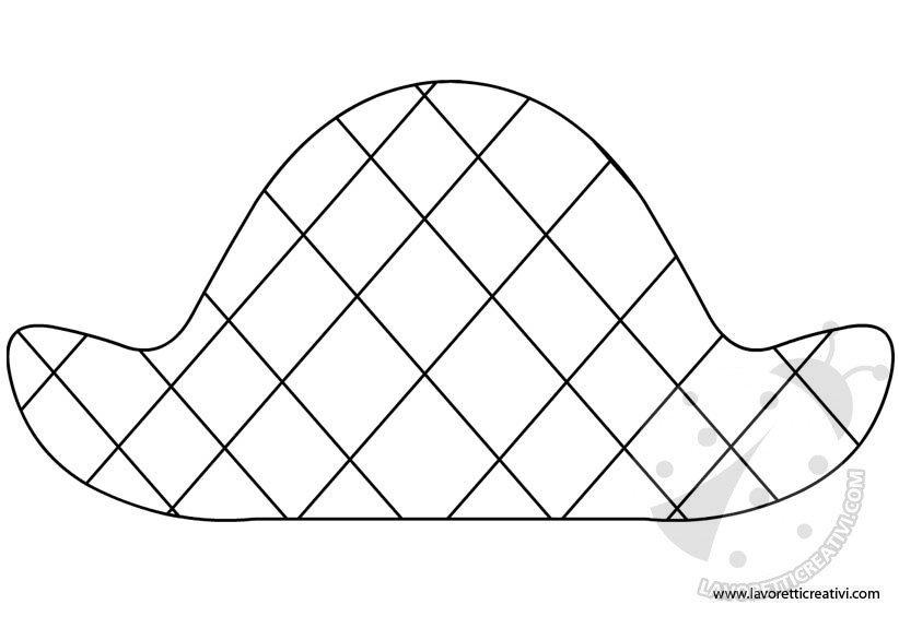 sagoma-cappello-arlecchino