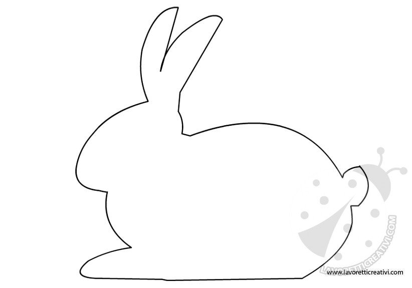 sagoma-coniglio