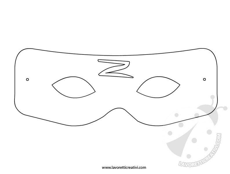 sagoma-maschera-zorro