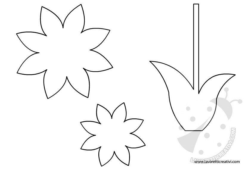 Addobbi primavera fiore lavoretti creativi - Addobbi per finestre primavera ...