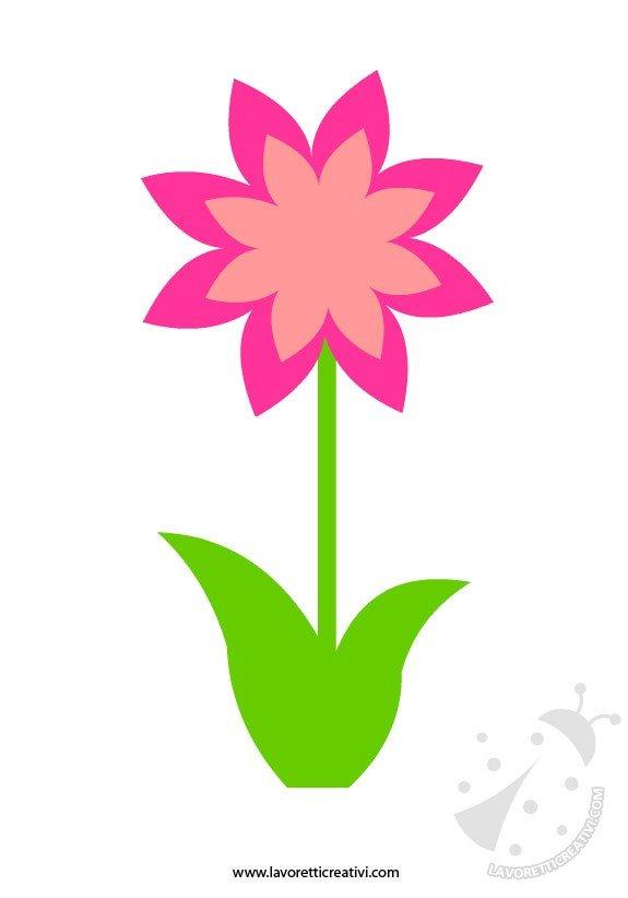 Addobbi primavera fiore lavoretti creativi for Addobbi finestre scuola infanzia primavera