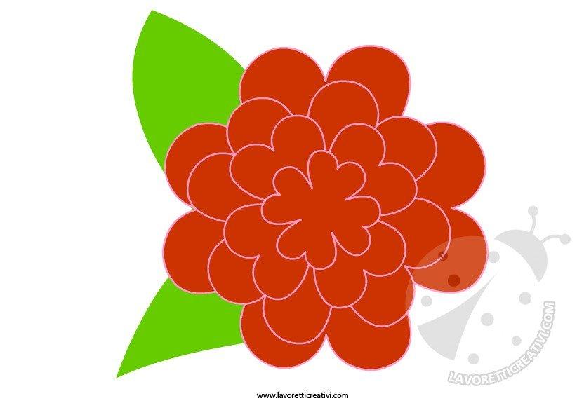 Lavoretti Primavera - Sagome fiore