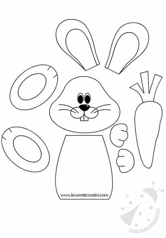 sagome coniglietti