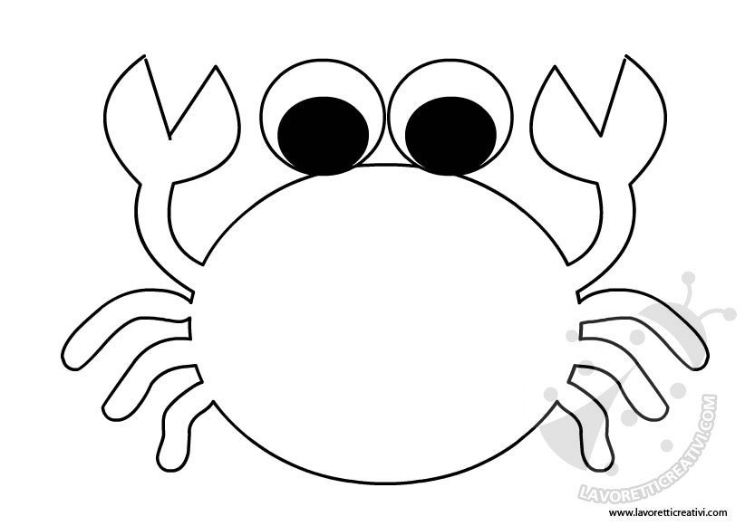 Animali del mare lavoretti creativi for Disegni marini da colorare