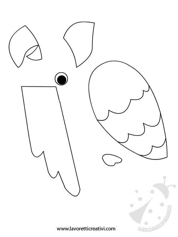 sagoma-pappagallo