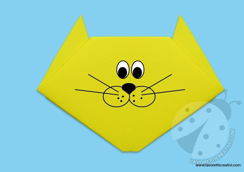 gatto-origami