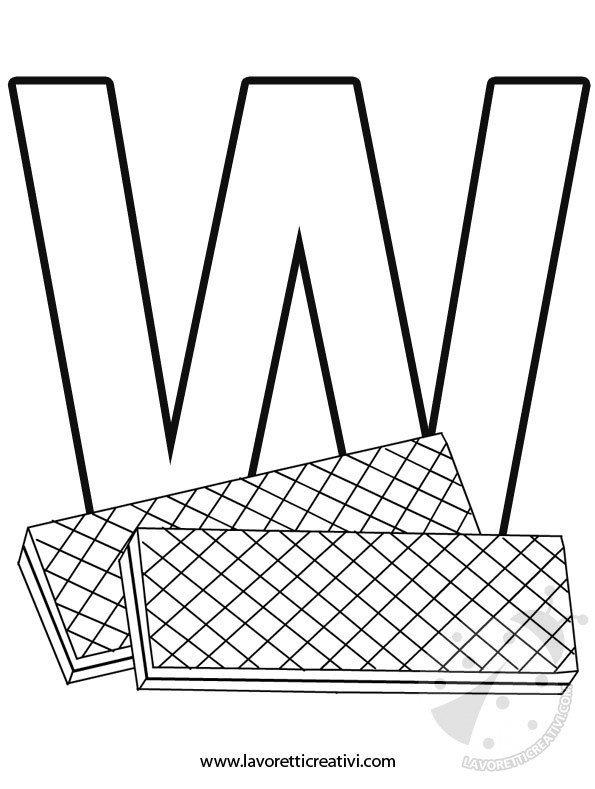 alfabeto-lettera-w
