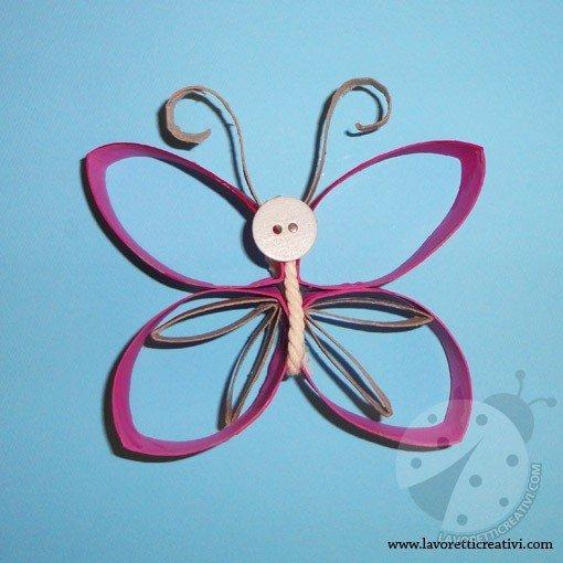 farfalla-lavoretti-rotolo-carta-igienica