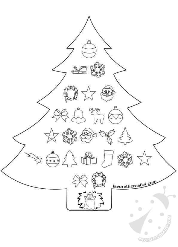 Calendario dell'Avvento per bambini - Lavoretti Creativi
