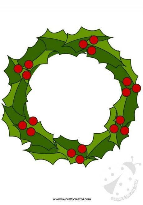 Lavoretti Di Natale 1 Elementare.Ghirlanda Di Natale Lavoretti Creativi