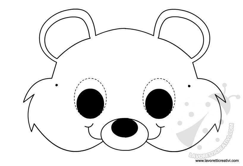 maschere-animali-orsetto