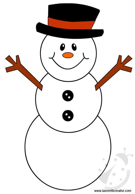 come fare un pupazzo di neve