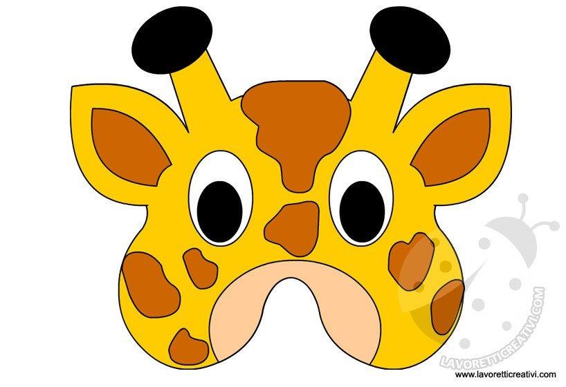 maschere-animali-giraffa