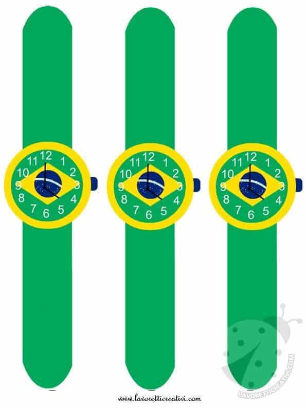 Lavoretti Mondiale di Calcio - Orologi del Brasile