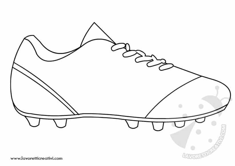 Sagome lavoretti mondiali di calcio lavoretti creativi - Pagina da colorare di un pallone da calcio ...