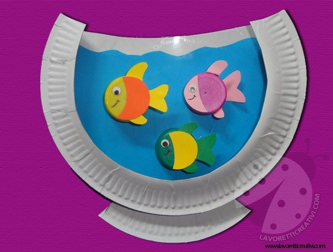acquario-piatto-carta-lavoretti-bambini