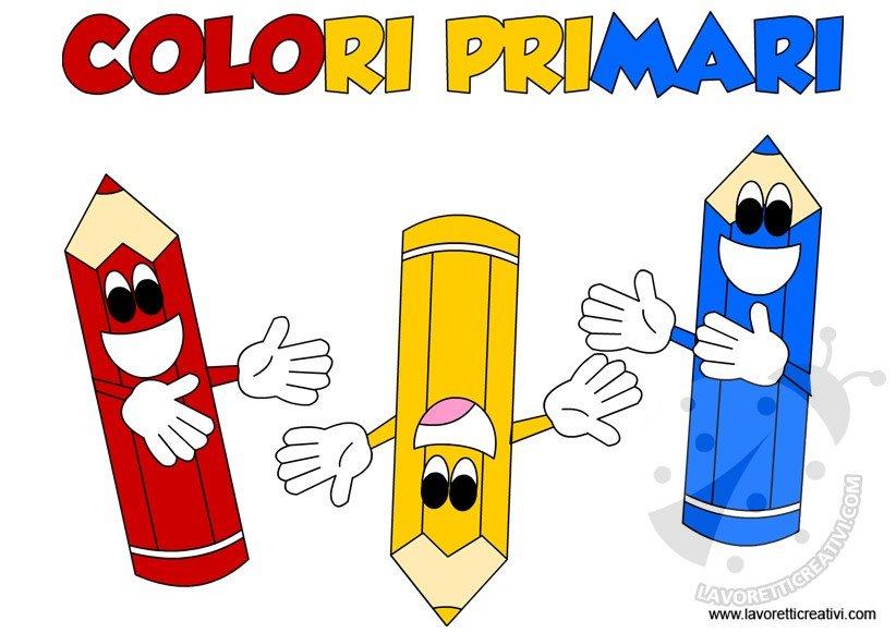 Schede Didattiche Sui Colori Primari Lavoretti Creativi