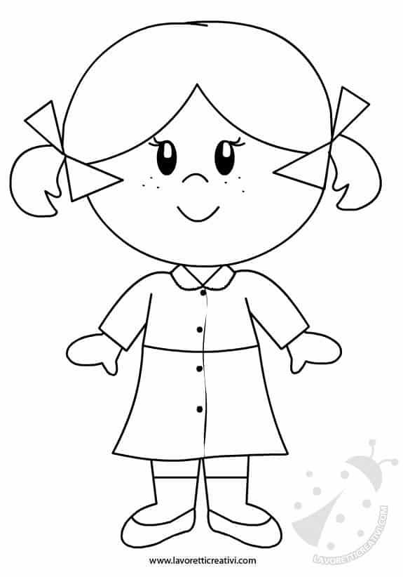 bambina-grembiulino-da-colorare
