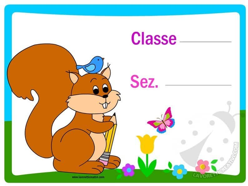 cartello-porta-aula-scoiattolo