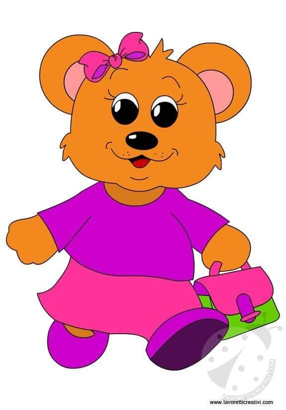 Addobbi accoglienza scuola materna orsetta lavoretti for Lavoretti creativi accoglienza