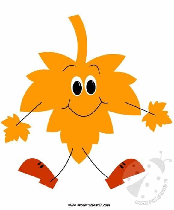 Addobbi autunno scuola foglia lavoretti creativi for Addobbi autunno scuola infanzia