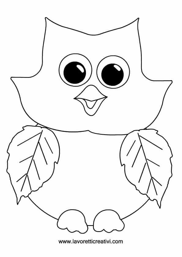 Lavoretti autunno scuola primaria gufo lavoretti creativi for Addobbi di natale per bambini scuola infanzia